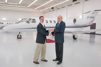 Cessna Announces Agreement with AirSprint