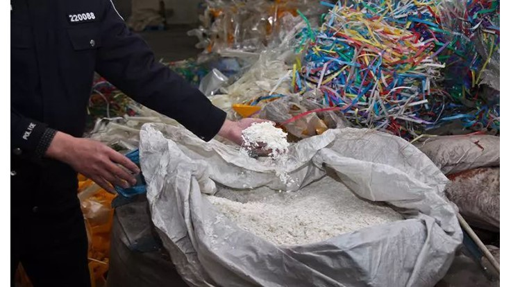Another plastic scrap crackdown takes place in China