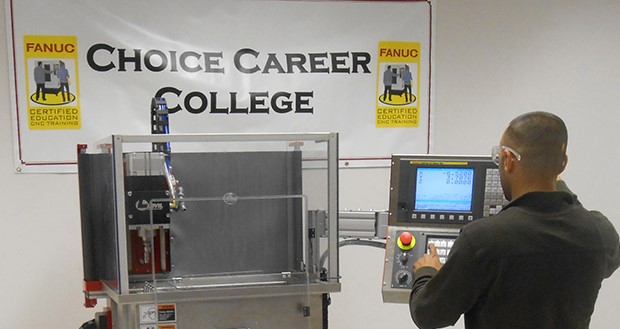 Computerized mfg  diploma from FANUC CNC program - Today's