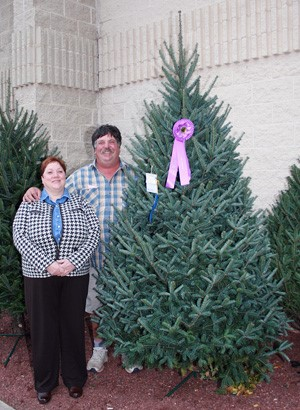 Wisconsin tree farmer wins competition
