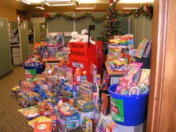 Clark Pest Control Helps Holiday Donations with Toys for Tots