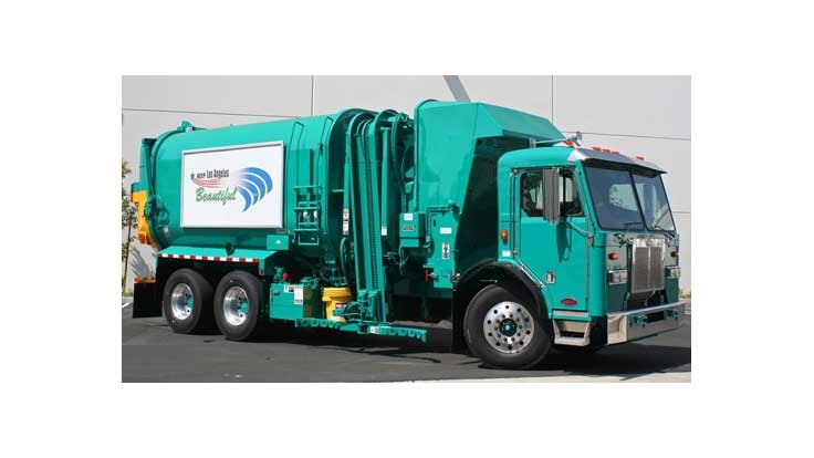 Los Angeles to add two electric garbage trucks
