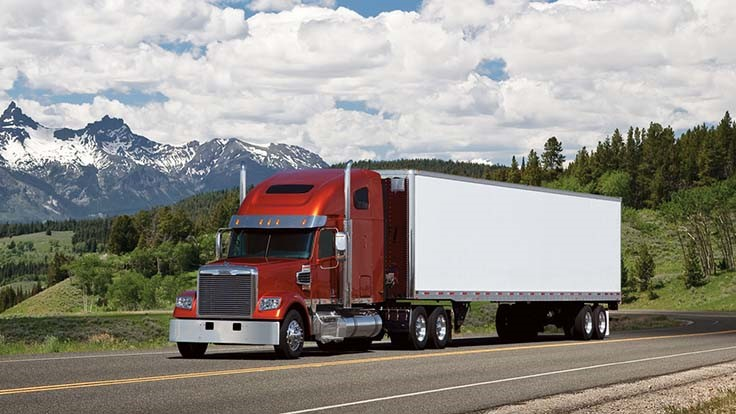 Class 8 truck orders surge in October
