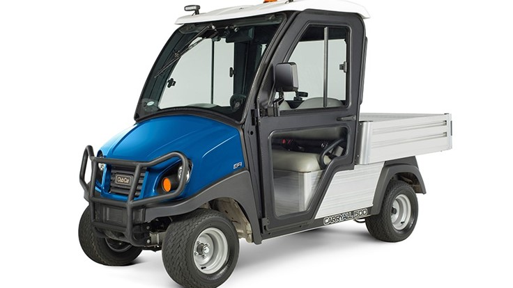 Club Car introduces upgraded cab for two-wheel Carryall vehicles