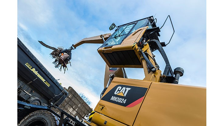 Cat releases new range of wheeled material handlers