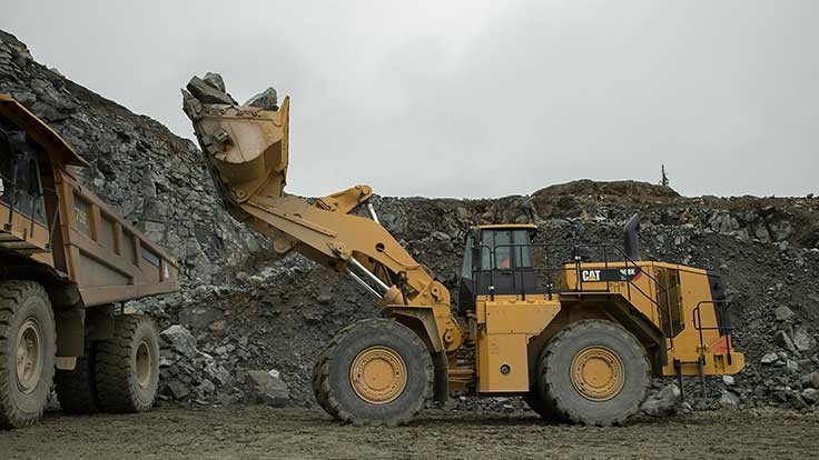 Cat introduces 988K XE electric drive wheel loader