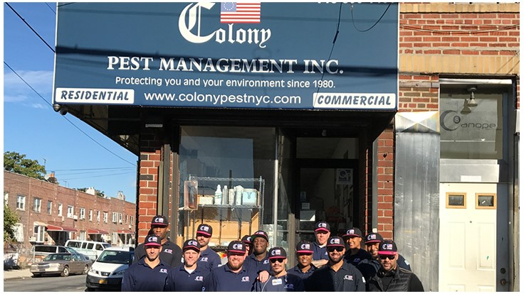 Colony Pest Wears Pink for Breast Cancer Awareness Month