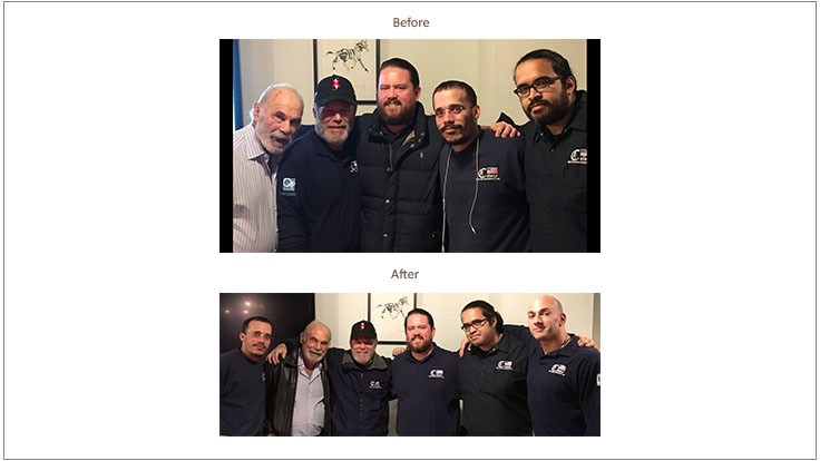 Colony's No Shave November Concludes with Shave-Off