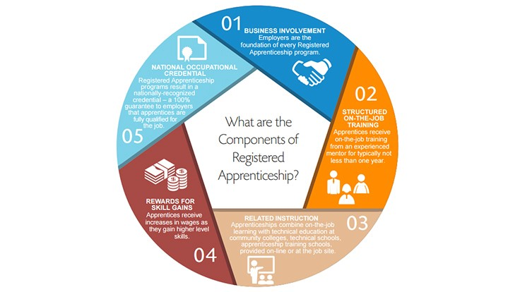 Growing apprenticeships in manufacturing
