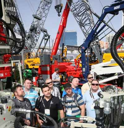 ConExpo-Con/Agg boasts record numbers