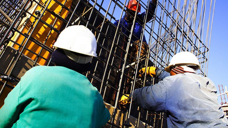 Construction unemployment rate up slightly in July