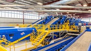 Republic Services' Southern Nevada Recycling Center features equipment from CP Group