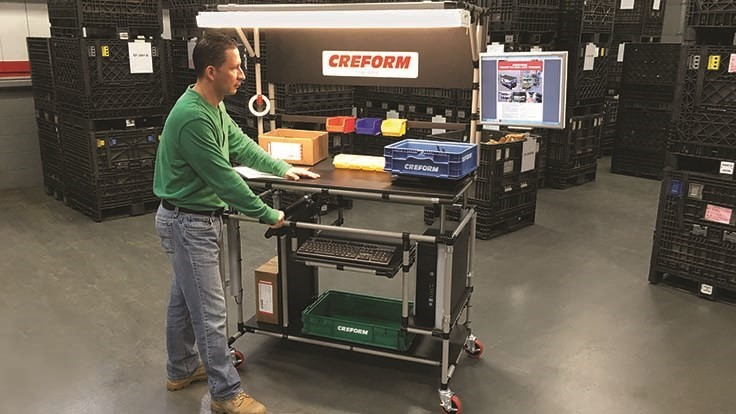 Creform mobile inspection workstation