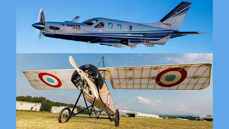 Daher revisits aviation heritage, debuts TBM 910 in US