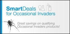 BASF SmartDeals for Occasional Invaders Promo