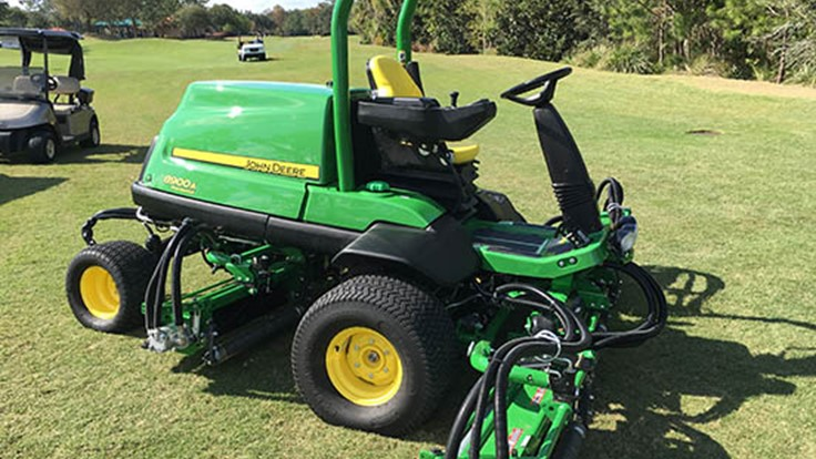 John Deere launches new large area reel mower