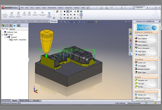 Webinar to Focus on Delcam - Aerospace Manufacturing and Design