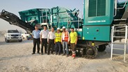 Powerscreen equipment put to use in Qatar