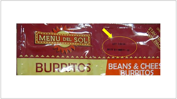 Frozen Burritos Recalled Due To Possible Listera Contamination