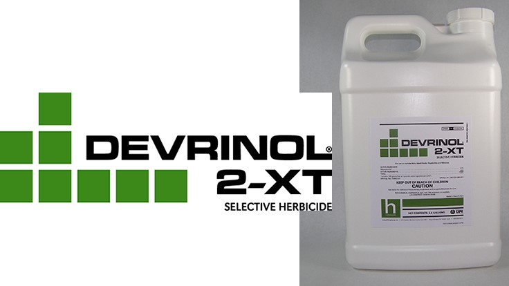 Devrinol 2-XT herbicide approved for nursery use