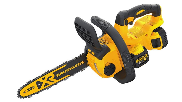 DEWALT launches new compact chainsaw