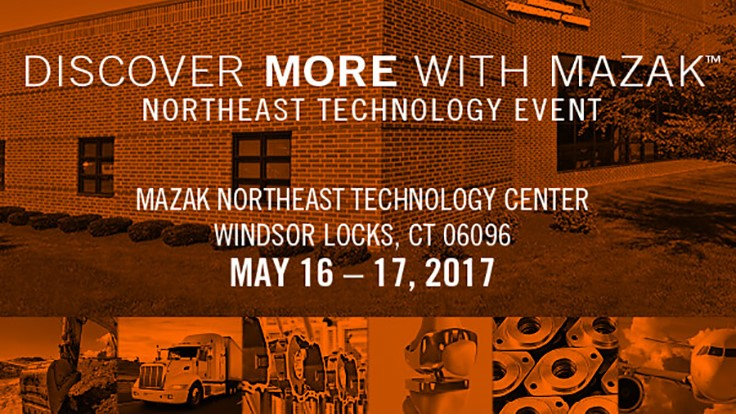 Discover More with Mazak Northeast Event