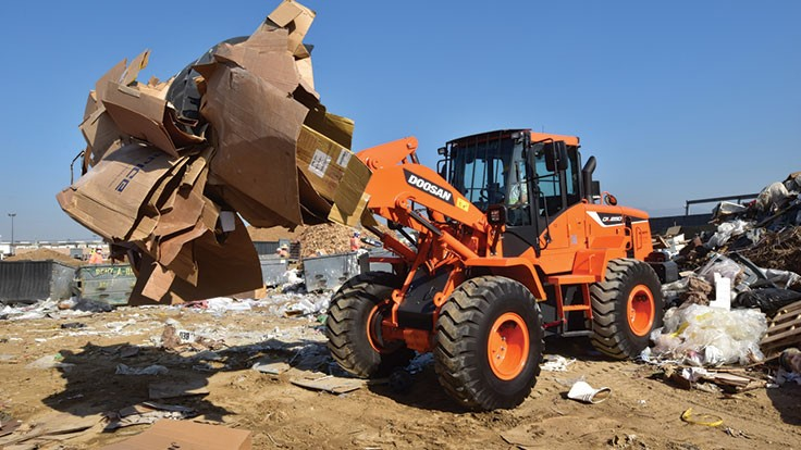Doosan designs wheel loader guarding package for harsh conditions