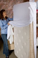 BedShield Can Be Used as a Mattresses or Box Spring Encasement