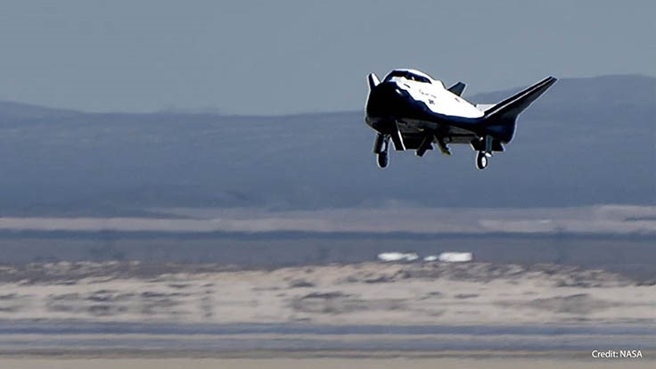 SNC's Dream Chaser spacecraft has successful free-flight test