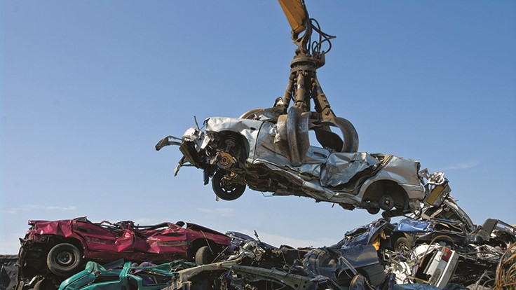 Schnitzer's Auto and Metals Recycling division sees seven-year Q1 high