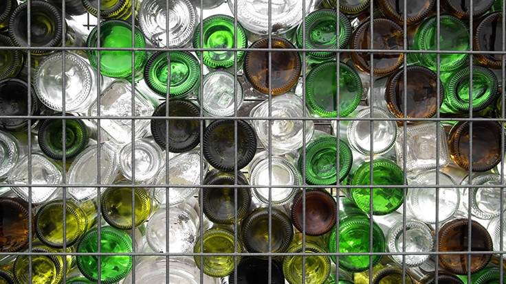 Philadelphia recycler creates aggregate from mixed glass