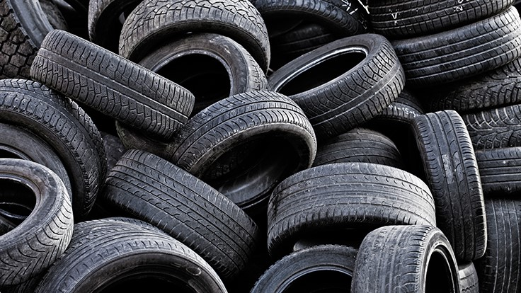 Scrap tire recycling facility opens recycling today for Scrap tractor tires