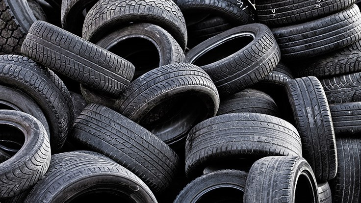 CalRecycle issues tire recycling grants