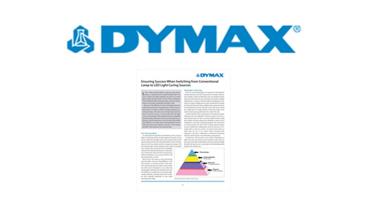 Dymax new white paper on light-curable adhesives