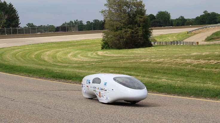 Canadian student team hits 4,113mpg in SAE/Eaton mileage contest