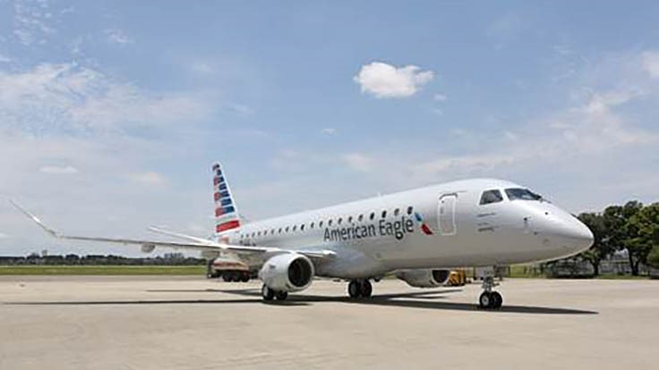 Embraer delivers 1,400th E-Jet to American Airlines