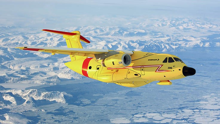 Embraer promotes KC-390 transport for SAR missions