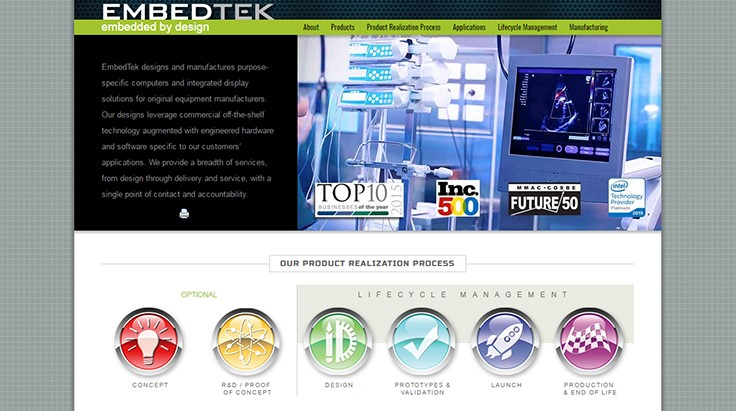 EmbedTek registers with FDA as contract manufacturer of medical devices