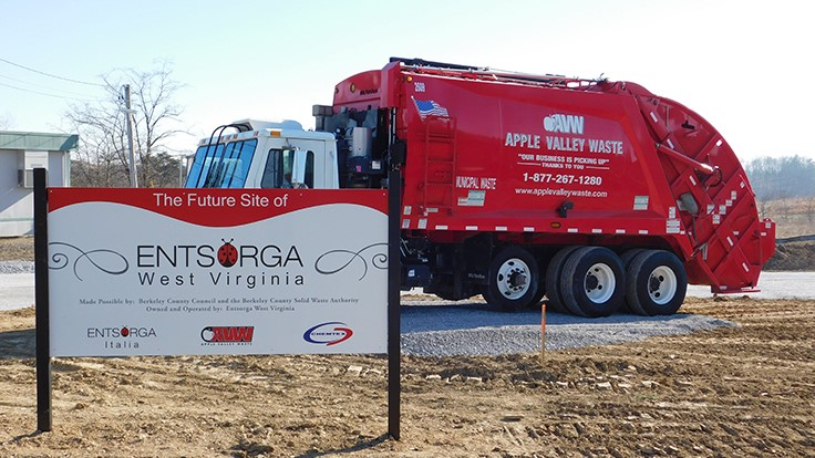 Entsorga WV to open waste-to-solid fuel facility