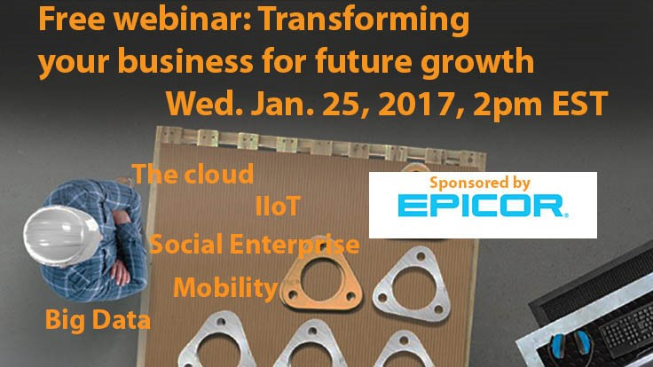 Free webinar today: Understanding the impacts of disruptive technologies
