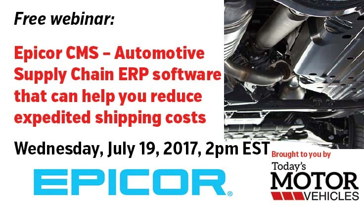 Free webinar: How automotive supply chain ERP software can reduce expedited shipping costs