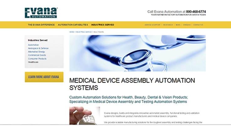 Medical device assembly error-proofed