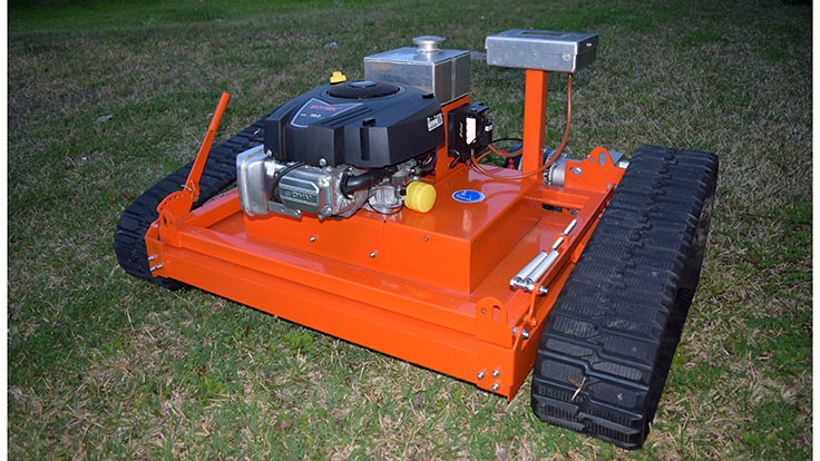 Evatech announces new remote controlled lawn mower