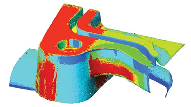 CT scanning for metrology looks inside 3D parts