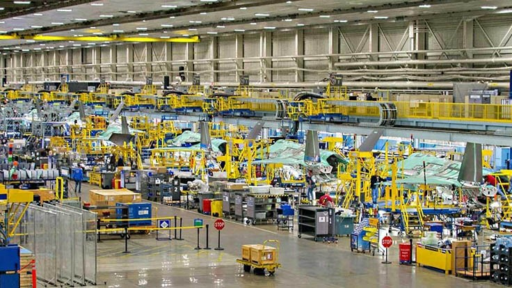 F-35 low-rate initial production lot 10 cost reduced