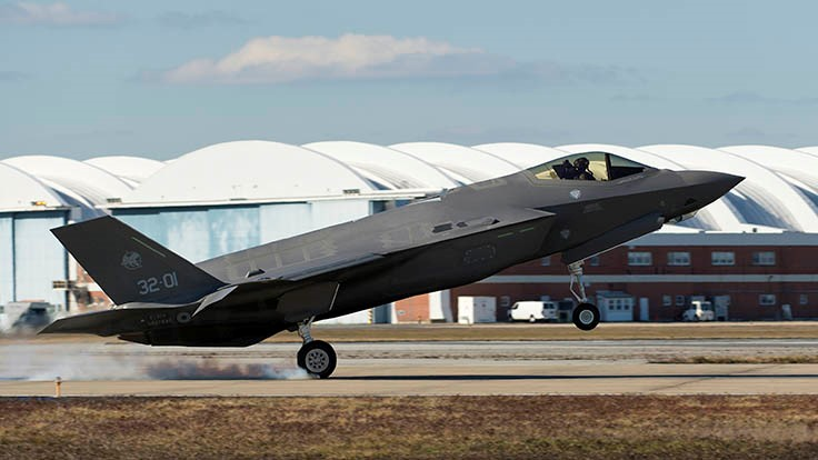 F-35A completes first transatlantic ocean crossing