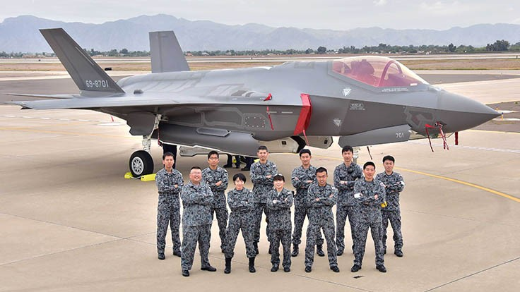 First Japanese F-35A arrives at Luke AFB