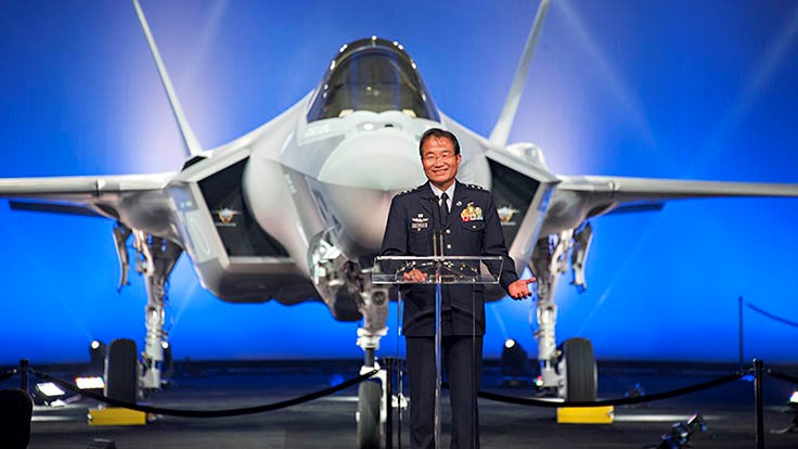 Lockheed Martin rolls out Japan's first F-35A