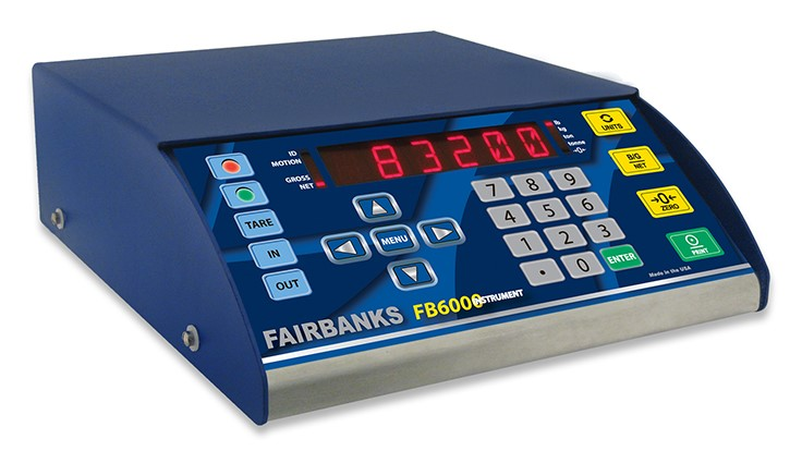 Fairbanks Scales updates weighing instrument