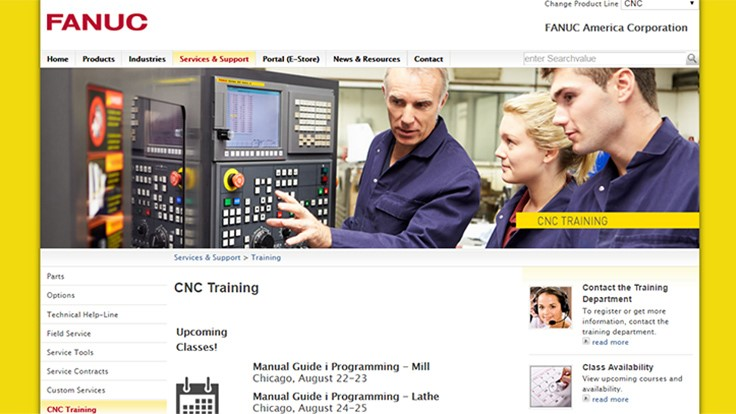 FANUC America expands CNC training program